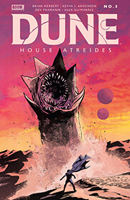 giant sandworm in Dune