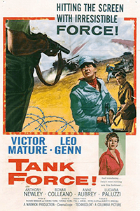 Tank Force! (1958) poster